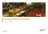 Indian Food Processing Industry Pre...