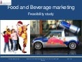Food and beverage marketing