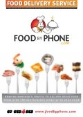 Food by Phone Menu Book 2013