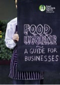 Food hygiene guide booklet
