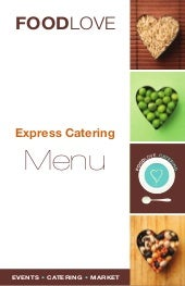 Foodlove Express Menu