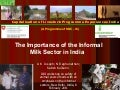 The Importance of the Informal Milk Sector in India