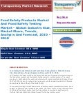 Food Safety Products Market And Food Safety Testing Market - Global Industry Size, Market Share, Trends, Analysis And Forecast, 2010 - 2018