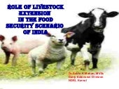 Role of livestock extension in the ...