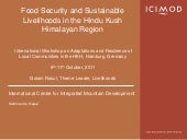 Food security & livelihoods   golam...
