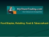 Food, Retailing and Tabacco - Austr...