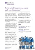 GT UK - Are football valuations coming back into formation?