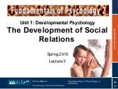 The Development of Social Relations...