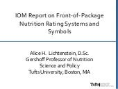 FOP Nutrition Rating Systems and Symbols_2013