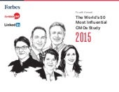 The World's 50 Most Influential CMOs