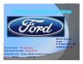 Ford motor company FACTS