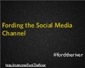 Fording the Social Media Channel (webinar)