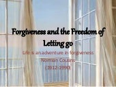 Forgiveness and the Freedom of lett...