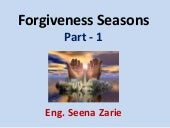 Forgiveness Seasons- Part 1
