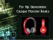 For Hip Generation: Casque Monster ...