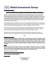 Aig Global Investment Group Acquire...