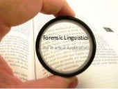 Forensic Linguistics:The Practical ...