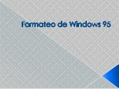 Formateo de windows 95