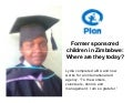 Sponsored children in Zimbabwe – Where are they today?