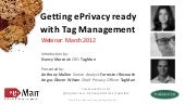 Getting ePrivacy Ready Webinar feat...