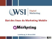 Etat des lieux du Marketing Mobile