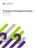 GT Events & Program Guide: ForwardThinking October/November 2017