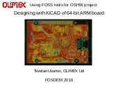 Designing with KiCAD of 64-bit ARM board