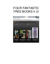 Four Fantastic FREE Books 4 U!