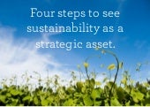 Four steps to sustainability as a s...