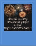 Fourth of July fuel efficiency tips!
