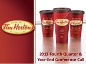 Tim Hortons, Inc. video