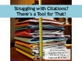 Struggling with Citations? There's a Tool for That!