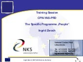 FP7 Specific  Programme  People (Ma...