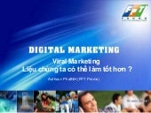 FPT Promo Viral Marketing - SMS Brandname Marketing - www.MobiMarketing.net