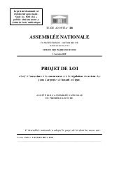 French Online Gambling Legislation