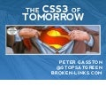 The CSS of Tomorrow (Front Row 2011)