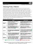 October 2014 Fracking Policy Monitor