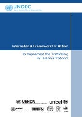 Framework for action - Trafficking ...