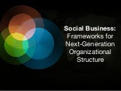 Social Business: Frameworks for Nex...