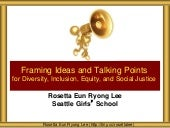 Framing and Talking Points for Equity and Justice