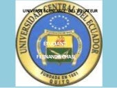 UNIVERSIDAD CENTRAL DEL ECUADOR, FA...