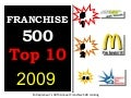 Franchise 500 Top 10 2009