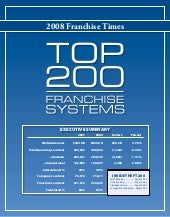 Franchise Times 2008 Top 200