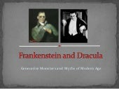 Frankenstein And Dracula