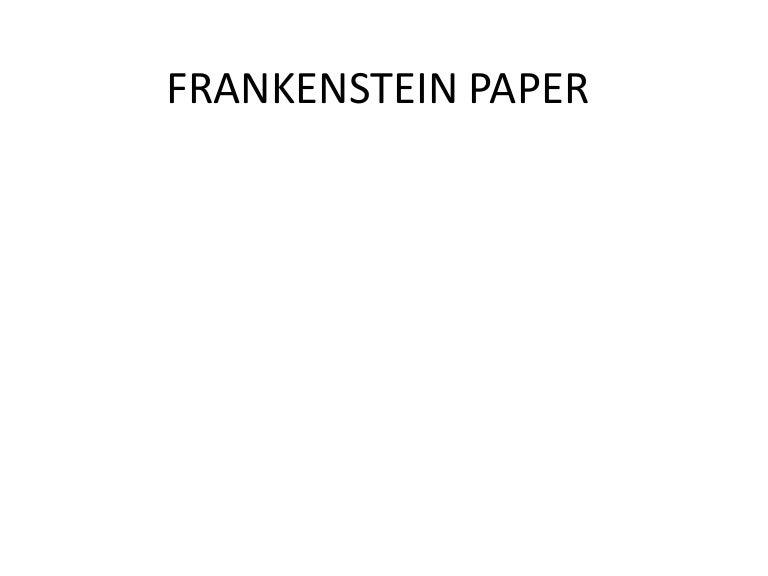 Advice on my introduction for my Frankenstein paper?