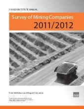 Fraser inst  mining survey-2011-2012