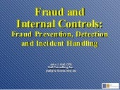 Fraud And Internal Controls   Linke...