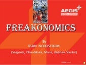 """Freakonomics"" by Mr.Steven D.Levit..."