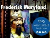 Frederick Md Real Estate Trends 2015