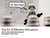 The Art Of Effective Persuasion (Th...